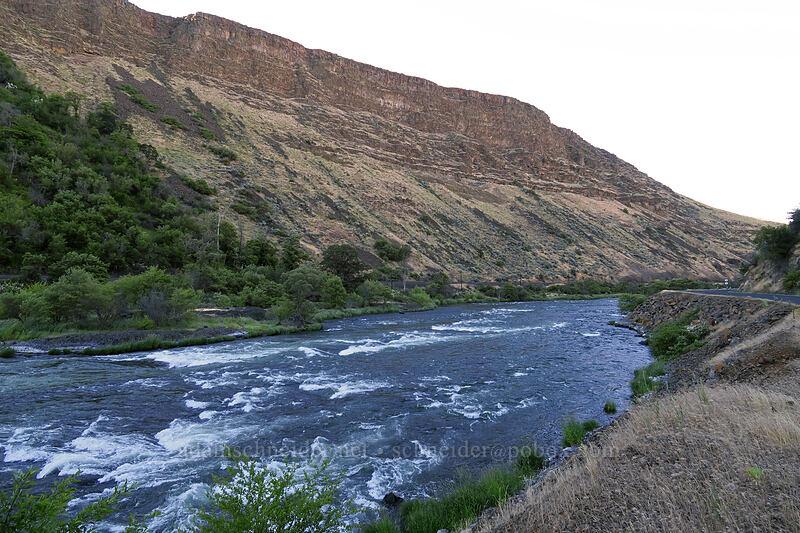 Deschutes River Valley [Deschutes River Access Road, Wasco County, Oregon]