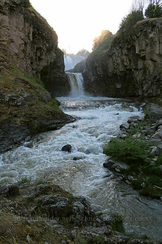 Celestial Falls [White River Falls State Park, Wasco County, Oregon]