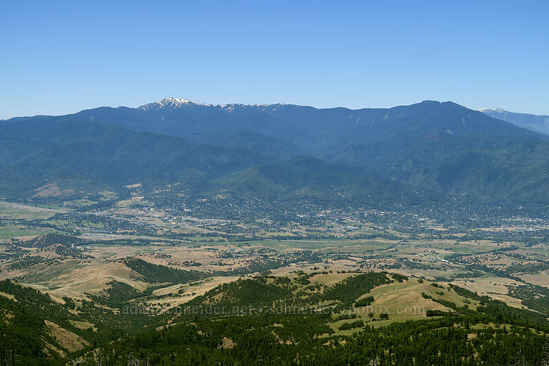 Ashland, Mt. Ashland, & Wagner Butte [Grizzly Peak Trail, Jackson County, Oregon]