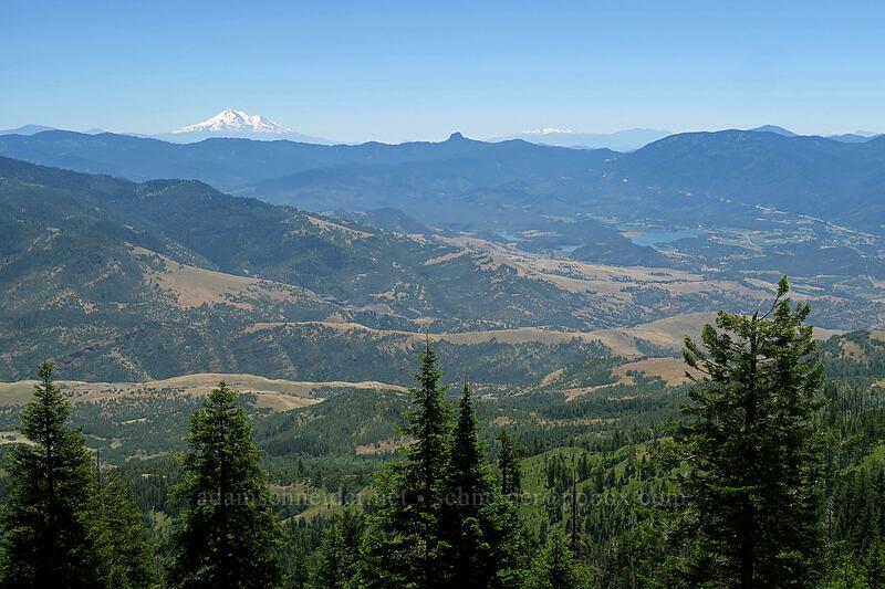 Mt. Shasta, Pilot Rock, The Eddys, & Emigrant Lake [Grizzly Peak Trail, Jackson County, Oregon]