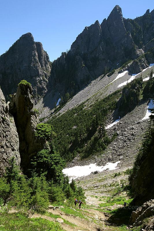 north ridge of Morning Star Peak [Sunrise Mine Trail, Morning Star NRCA, Washington]