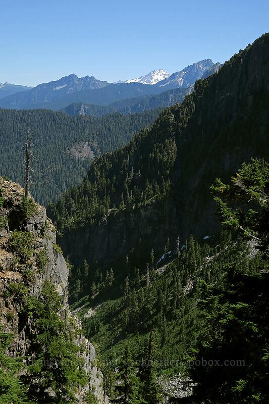 view toward Glacier Peak [Sunrise Mine Trail, Morning Star NRCA, Washington]
