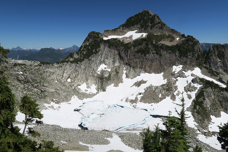 Sperry Peak & Lake Elan [Vesper Peak, Morning Star NRCA, Washington]