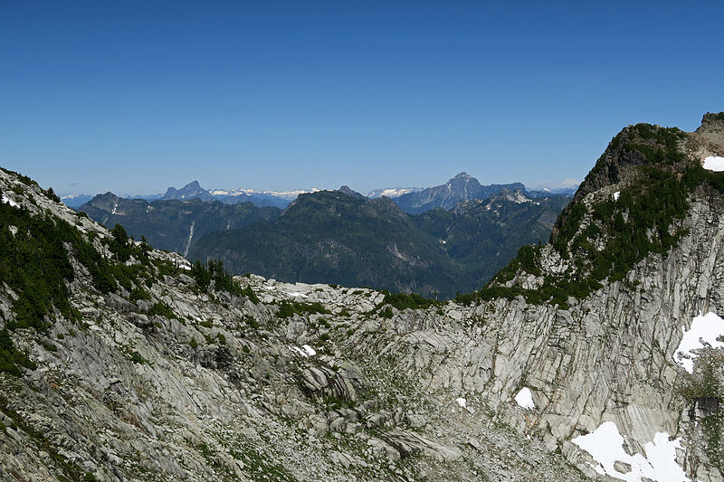 saddle between Wolf Peak & Sperry peak [Vesper Peak, Morning Star NRCA, Washington]