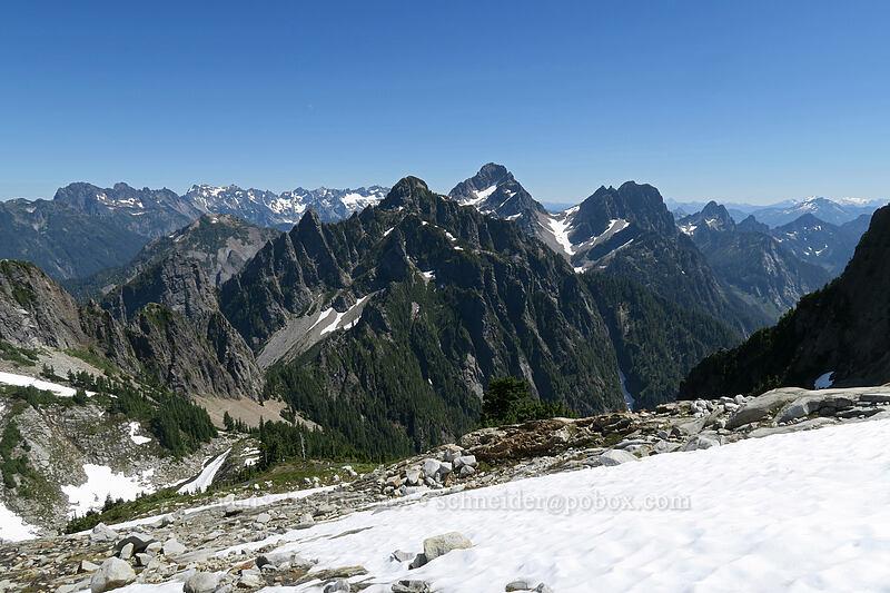Morning Star Peak, Del Campo Peak, & Gothic Peak [Vesper Peak, Morning Star NRCA, Washington]