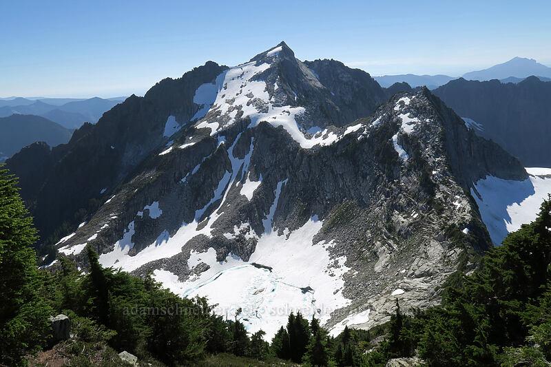 Vesper Peak, Wolf Peak, & Lake Elan [Sperry Peak, Morning Star NRCA, Washington]