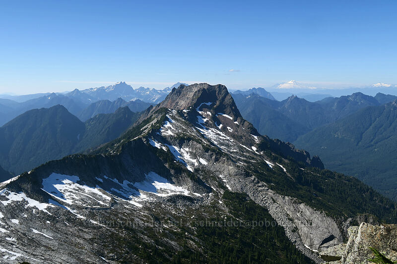 Big Four Mountain [Sperry Peak summit, Morning Star NRCA, Washington]