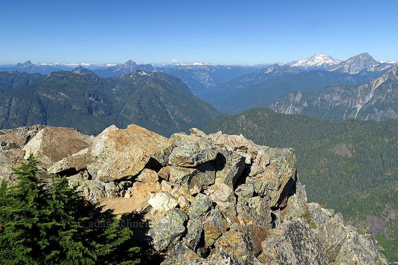 Sperry Peak's summit [Sperry Peak summit, Morning Star NRCA, Washington]