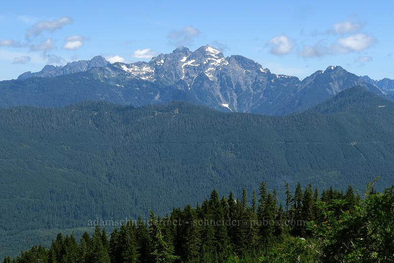 Three Fingers [Mount Pilchuck Trail, Mount Pilchuck State Park, Washington]
