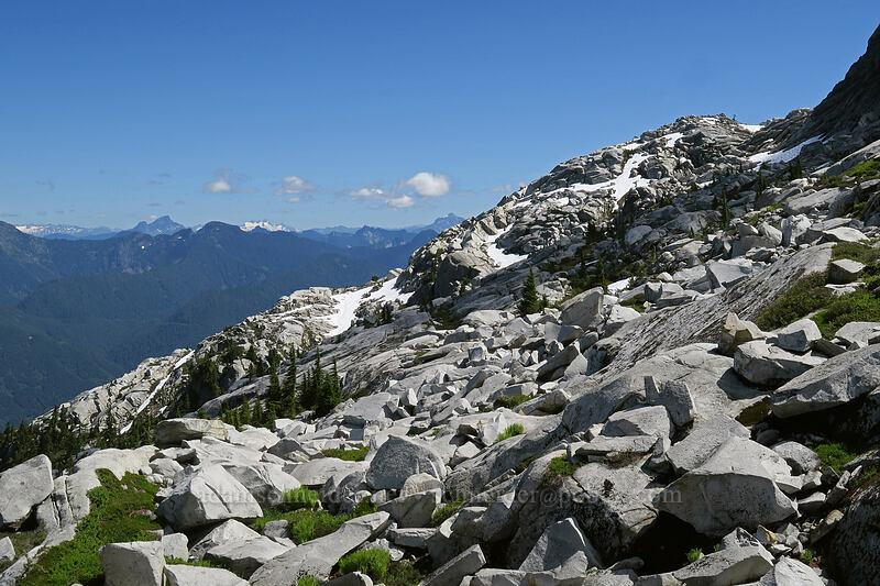 north side of Mt. Pilchuck [Mount Pilchuck Trail, Mount Pilchuck State Park, Washington]