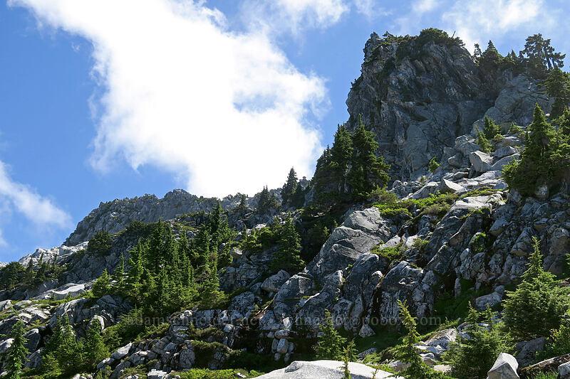 Mt. Pilchuck's summit [Mount Pilchuck Trail, Mount Pilchuck State Park, Washington]