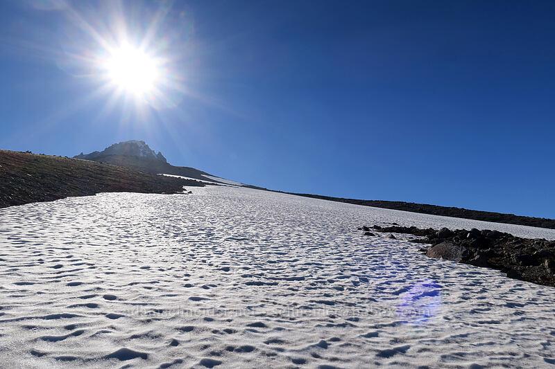 sun & snow [Timberline Trail, Mt. Hood Wilderness, Oregon]