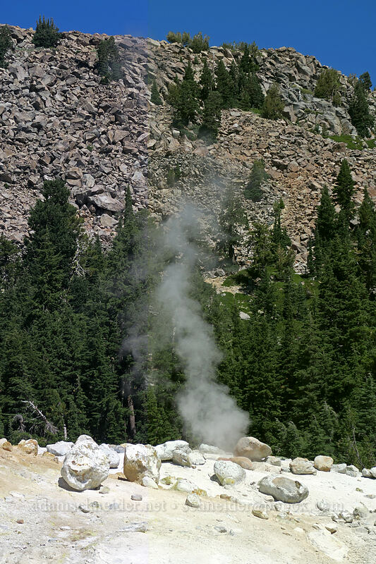 fumarole [Bumpass Hell, Lassen Volcanic National Park, California]