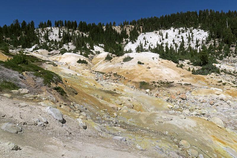 sulfurous vents [Bumpass Hell, Lassen Volcanic National Park, California]