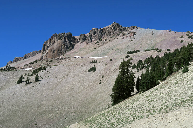 Lassen Peak [Lassen Peak Trailhead, Lassen Volcanic National Park, California]