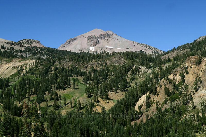 Lassen Peak & Little Hot Springs Valley [Lassen Peak Highway, Lassen Volcanic National Park, California]