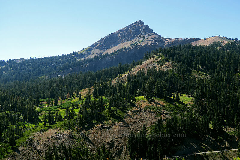 Brokeoff Mountain [Lassen Peak Highway, Lassen Volcanic National Park, California]