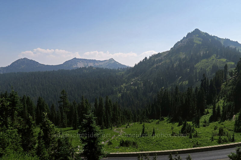 view from Chinook Pass [Pacific Crest Trail, Wenatchee National Forest, Washington]