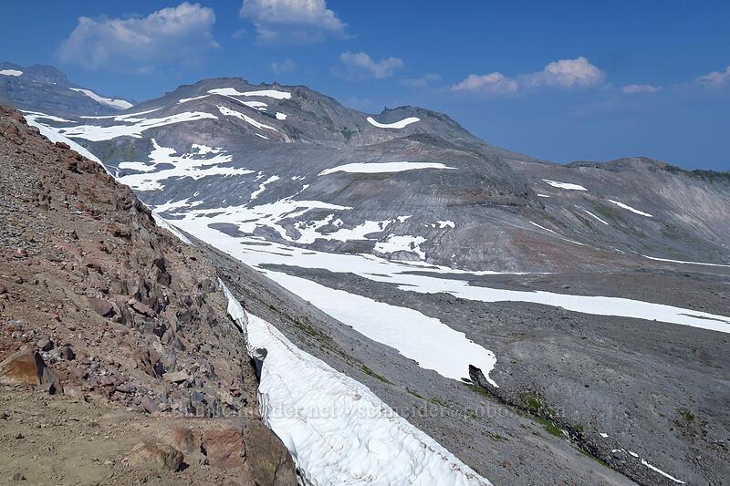 bottom of Paradise Glacier [Skyline Trail, Mount Rainier National Park, Washington]