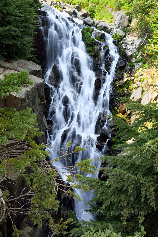 Myrtle Falls [Myrtle Falls Viewpoint, Mount Rainier National Park, Washington]