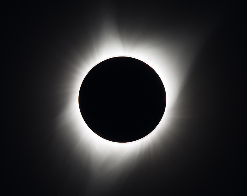 the sun's corona [Madras, Oregon]