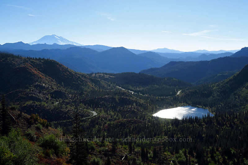 Mount Adams & Meta Lake [Boundary Trail, Mt. St. Helens National Volcanic Monument, Washington]