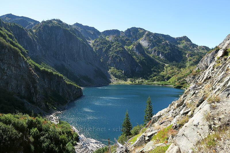 Shovel Lake [Lakes Trail, Mt. St. Helens National Volcanic Monument, Washington]