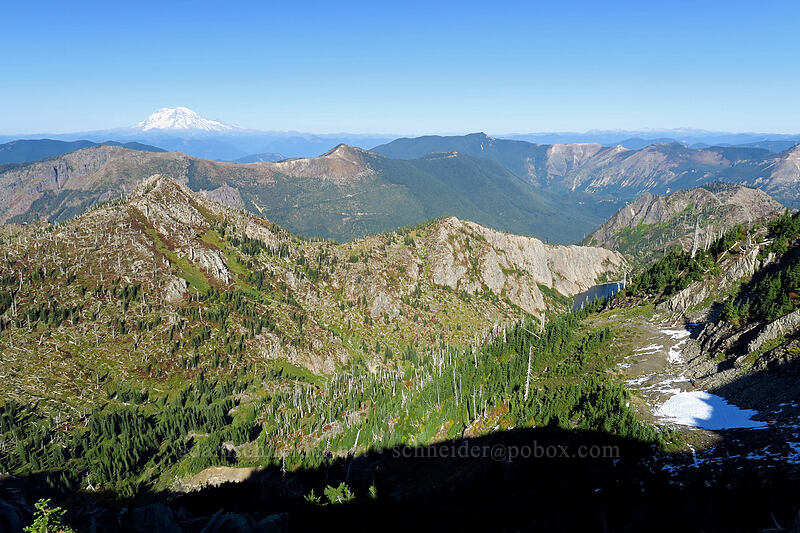 Mt. Rainier, Goat Mountain, & Mt. Margaret Backcountry [Whittier Trail, Mt. St. Helens National Volcanic Monument, Washington]