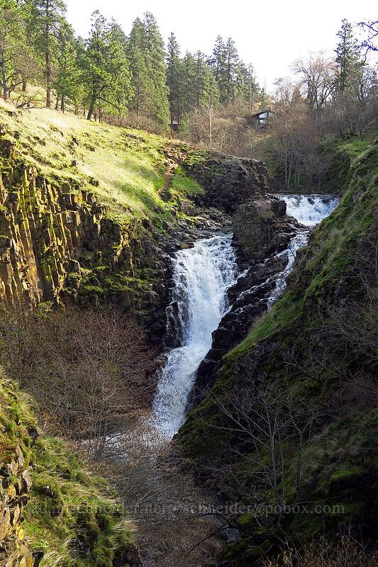 Mosier Creek Falls [Mosier Plateau Trail, Mosier, Oregon]