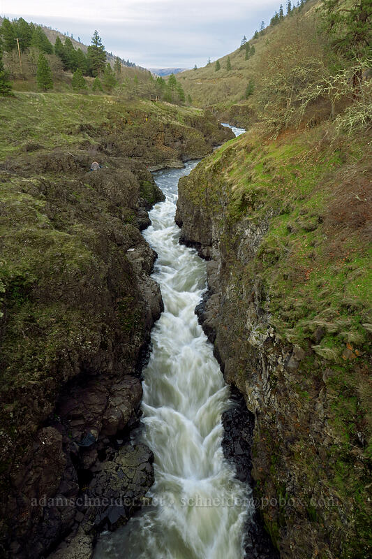 Klickitat River [Fisher Hill Trestle, Klickitat County, Washington]