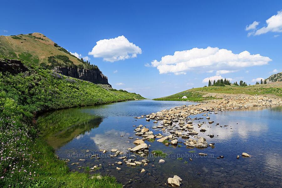 Emerald Lake [below Mt. Timpanogos, Mount Timpanogos Wilderness, Utah]