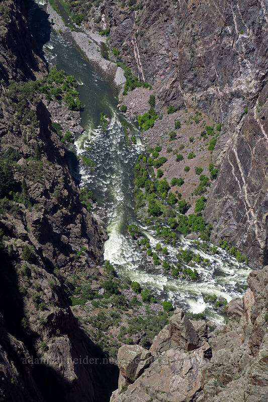 Gunnison River [Cedar Point, Black Canyon of the Gunnison National Park, Colorado]