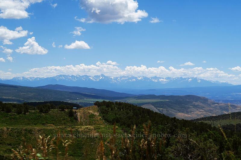 Sneffels Range [Highway 347, Montrose County, Colorado]