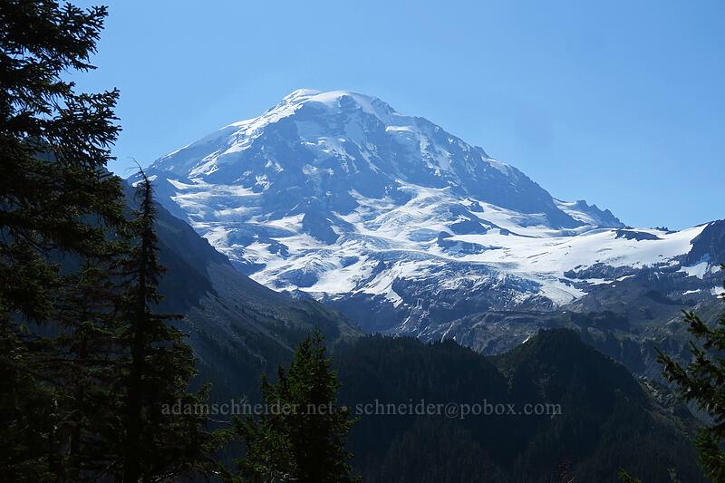 Mount Rainier [Eagle Cliff Viewpoint, Mount Rainier National Park, Washington]