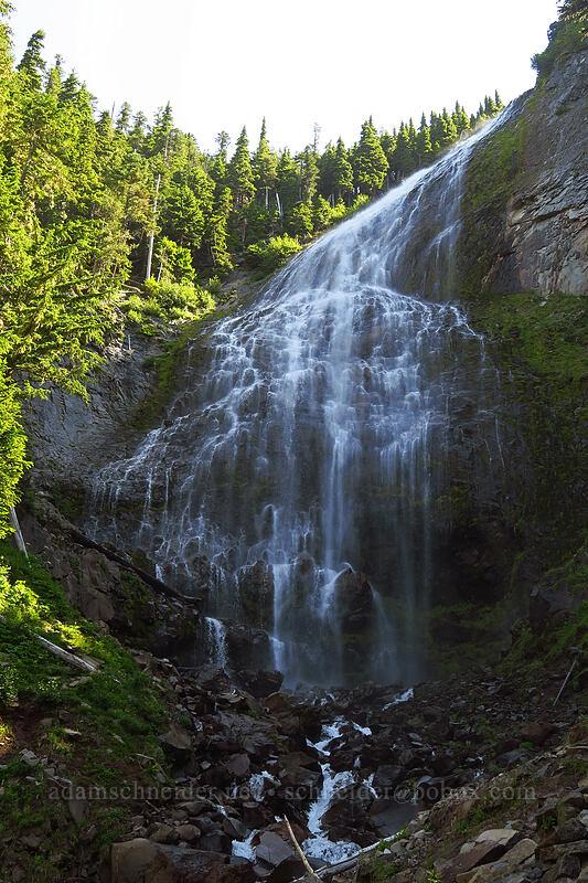 Spray Falls [Spray Falls Spur Trail, Mount Rainier National Park, Washington]