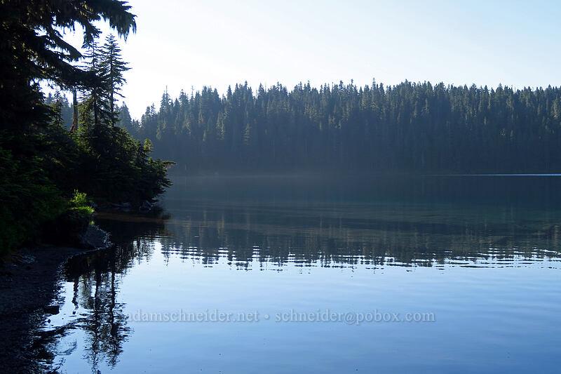 Mowich Lake [Knapsack Pass Trail, Mount Rainier National Park, Washington]