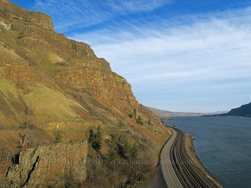 eastern Columbia River Gorge [Lyle Convict Road, Klickitat County, Washington]