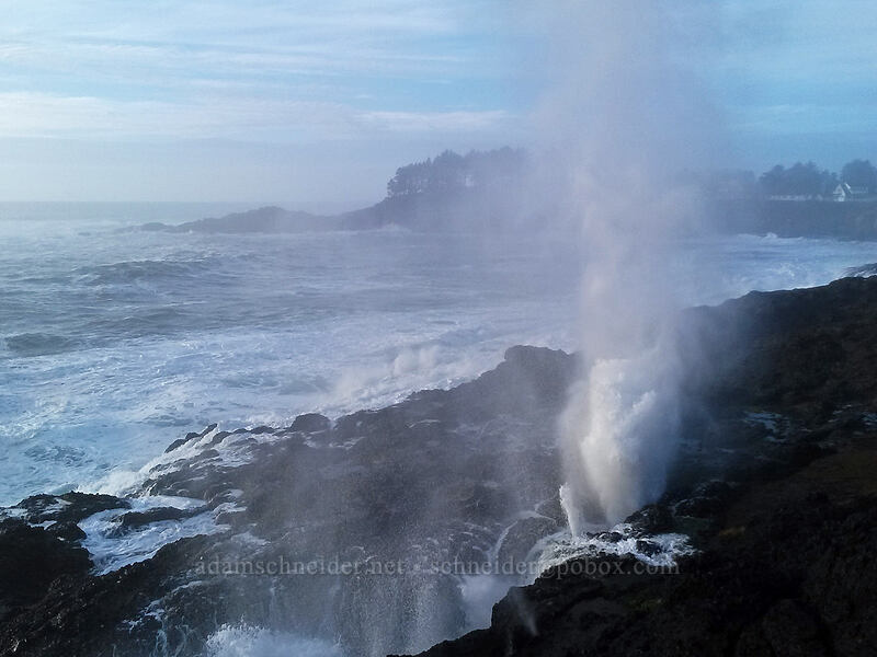 blowhole [Depoe Bay, Lincoln County, Oregon]