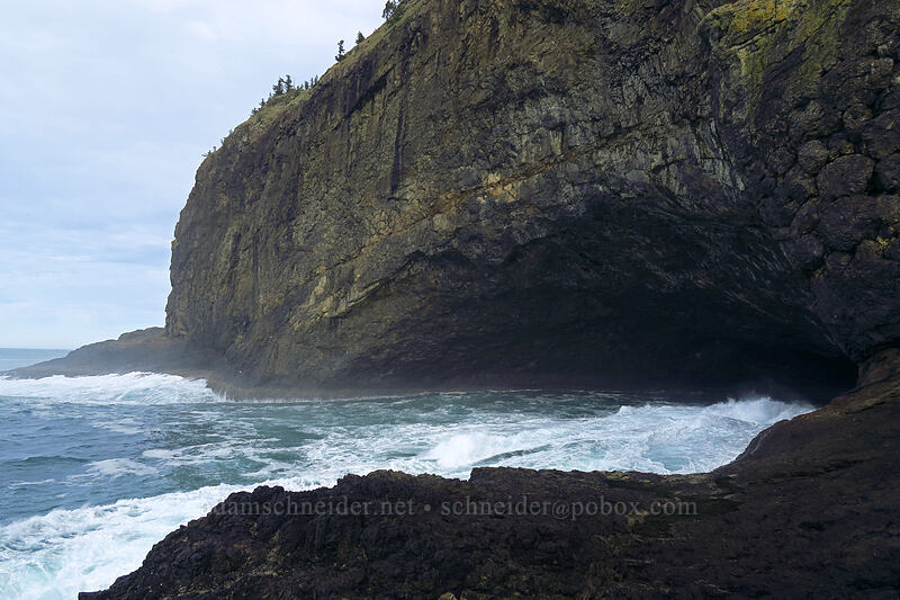 sea cave [Cape Lookout, Cape Lookout State Park, Oregon]
